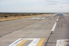 L'atterrissage d'aéroport et enlèvent la zone Images libres de droits