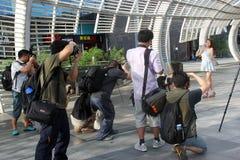 L'attività di fotografia a Shenzhen Fotografia Stock Libera da Diritti