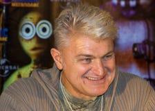 L'attore e lo showman Vladimir Turchinsky fotografie stock libere da diritti