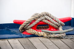 L'attracco della nave Fotografia Stock Libera da Diritti