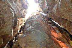 L'attraction pour beaucoup de touristes est Al Qarah Mountain dans la terre de la civilisation sur l'Arabie Saoudite photographie stock libre de droits