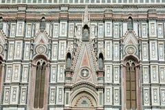 L'attraction principale de Florence Le symbole de la ville Les chambres fortes de la cathédrale de Santa Maria del Fiore sont déc images stock