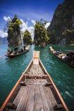 L'attrazione del porticciolo in Tailandia Fotografie Stock Libere da Diritti
