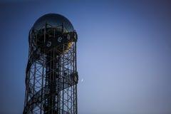 L'attrazione unica di Batumi è la torre dell'alfabeto fotografia stock