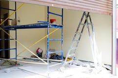 L'attrezzatura per costruzione Fotografia Stock