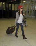 L'attrice Ashley Tisdale è veduta al LASSISMO fotografie stock