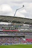 L'au sol ovale de cricket Photos stock
