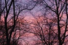 L'Aube con una miscela dei colori france Fotografia Stock Libera da Diritti