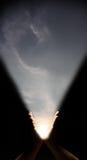 L'aube de l'homme. Image stock