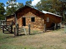 L'auberge et le cisaillement de Morton jetés - Waanyarra, Victoria, Australie Image libre de droits