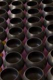 L'aumône-cuvette 108 du moine noir Photographie stock
