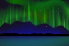 L'aurore Illustration de Vecteur