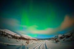 L'aurore en Islande Image libre de droits