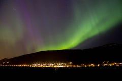 L'aurore en Norvège Photographie stock
