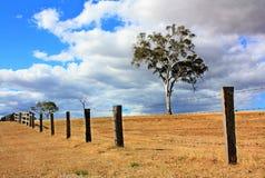 L'Australia, amo un paese scolorito al sole. immagini stock