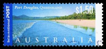 L'AUSTRALIA - francobollo fotografie stock libere da diritti