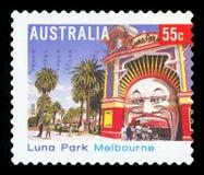 L'AUSTRALIA - francobollo fotografie stock