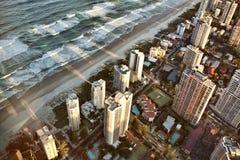 L'Australia la Gold Coast immagini stock