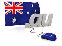 L'Australia in linea Immagini Stock Libere da Diritti