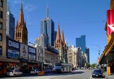 L'Australia, Melbourne Fotografia Stock