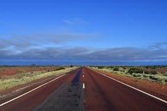L'Australia, Australia Meridionale, Stuart Highway diritto immagini stock libere da diritti
