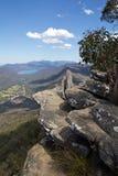L'Australia, parco nazionale di Grampians, allerta di Boroka Immagini Stock