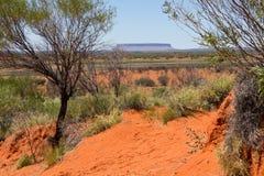 L'Australia, supporto Conner Lookout con il supporto Conner Fotografia Stock Libera da Diritti