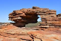 L'Australia, WA, parco nazionale di Kalbarri, finestra delle nature immagine stock