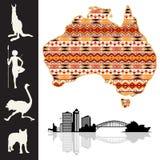 l'Australie illustration de vecteur