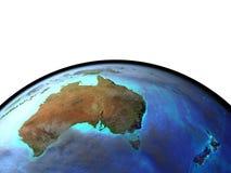 l'Australie de l'espace illustration stock