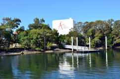 L'Australie de la Gold Coast de centre d'arts Images libres de droits