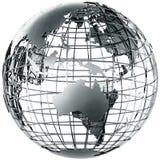 l'Australie en métal illustration de vecteur