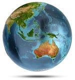 l'australie rendu 3d illustration de vecteur
