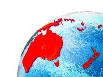 L'Australie sur terre 3D illustration libre de droits