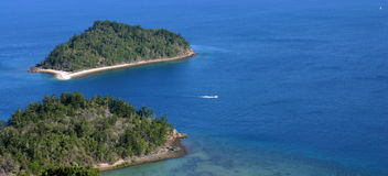l'Australie. Whitsundays. Îles Photographie stock