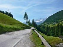 L'Austria, Alpe-prospettiva del Dachstein Immagini Stock