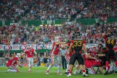 L'Austria contro il Belgio germany Fotografia Stock