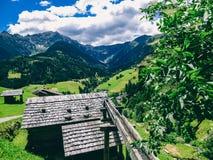 L'Austria - cottage alpino immagine stock libera da diritti