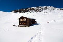 L'Austria - facendo un'escursione nelle alpi del heler del ¼ di Kitzbà Fotografie Stock Libere da Diritti