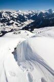 L'Austria - facendo un'escursione nelle alpi del heler del ¼ di Kitzbà Immagine Stock