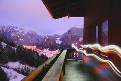 L'Austria, Hintertux Fotografie Stock Libere da Diritti