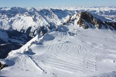 L'Austria. Montagne. Il Alpes. Fotografie Stock Libere da Diritti