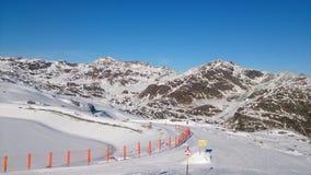 L'Austria nell'inverno Fotografia Stock Libera da Diritti