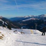 L'Austria nell'inverno Fotografie Stock Libere da Diritti