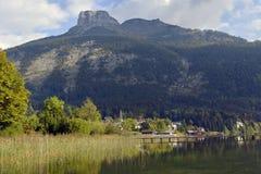 L'Austria, Salzkammergut, Altaussee Fotografie Stock Libere da Diritti