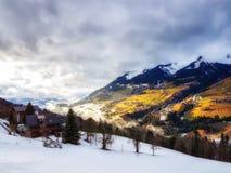 L'Austria Scenics nell'inverno Immagini Stock