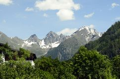 L'Austria, Tirol Immagini Stock Libere da Diritti