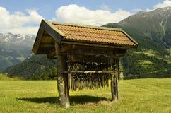 L'Austria, Tirolo, agricoltura Fotografie Stock Libere da Diritti