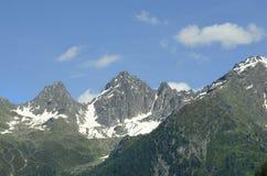 L'Austria, Tirolo, alpi Fotografia Stock