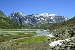 L'Austria, Tirolo, alpi Immagine Stock